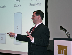 John M. Leonetti, recognized thought leader in the exit strategy planning field, giving Exit Strategy Planning Presentations